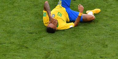 Neymar leidet