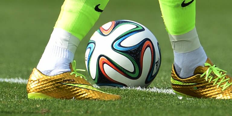 Neymar mit goldenen Schuhen gegen Chile