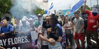 Über 500 Tote bei Protesten in Nicaragua