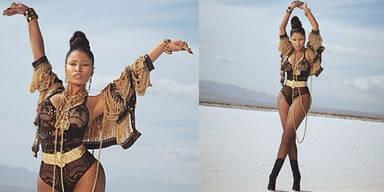 Nicki Minaj: ungewöhnlich elegantes Styling