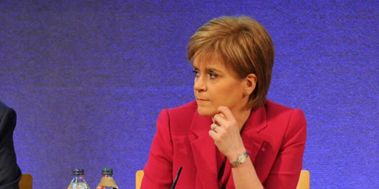Schottland beantragt Unabhängigkeitsreferendum