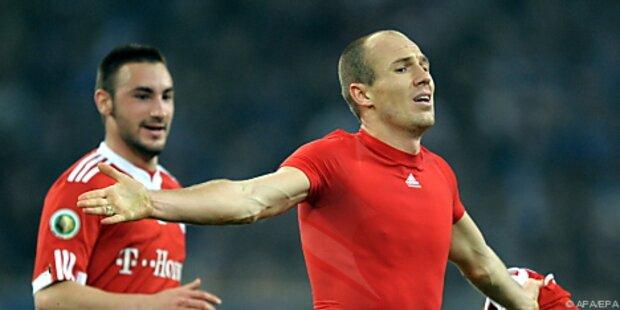 Bayern im Schlager gegen Schalke wohl mit Robben