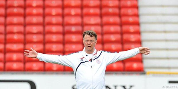 Van Gaal nach 1:1 in Leverkusen zufrieden