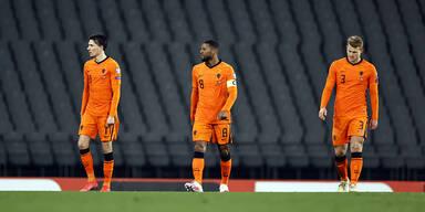 Niederlande mit Auftaktpleite gegen Türkei