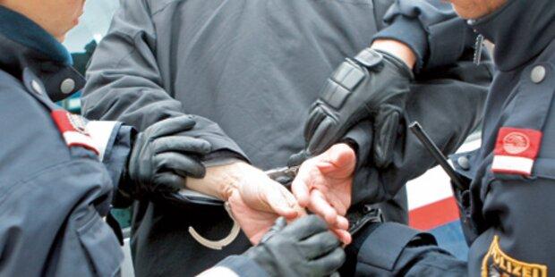 Polizei verhaftete Linzer Bankräuberpärchen