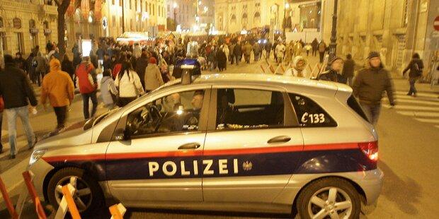 500 Polizisten bewachen Silvesterpfad