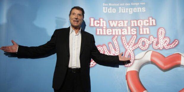 Super-VIPs stürmen Udo Jürgens- Musical