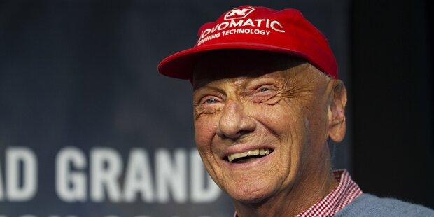 So Reagiert Niki Lauda Auf Mama Laudaaa