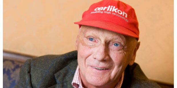 Niki Lauda fühlt sich fit für Zwillinge