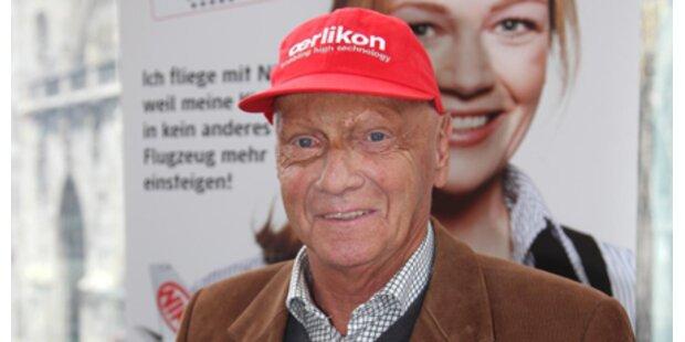 Niki Lauda wirbt für ING-DiBa