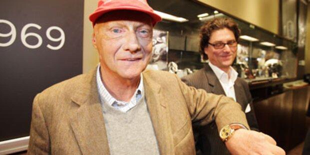 Einbruch bei Niki Lauda: Uhr weg!
