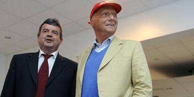 Niki Lauda leidet an Hüftschaden