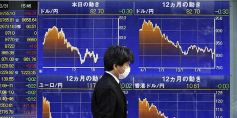 Börse Tokio schließt im Minus