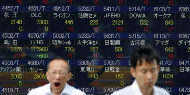Börse Tokio geht mit Gewinnen ins Wochenende