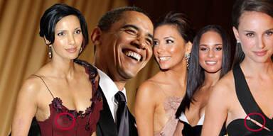 Nippel-Alarm im Weißen Haus: Barack Obama meets Hollywood