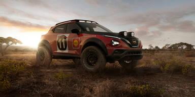 Nissan begeistert mit Juke im Rallye-Look