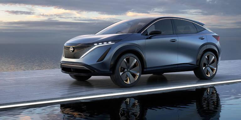 Qashqai-Erbe: Nissan bringt Elektro-Crossover