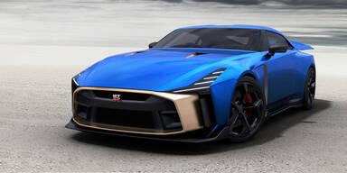 """Nissan GT-R """"50 Jahre"""" kostet über 1 Mio. €"""