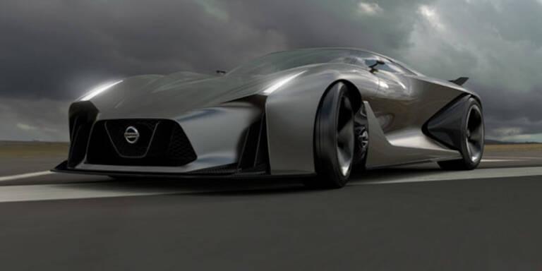 Nissan zeigt Sportwagen der Zukunft