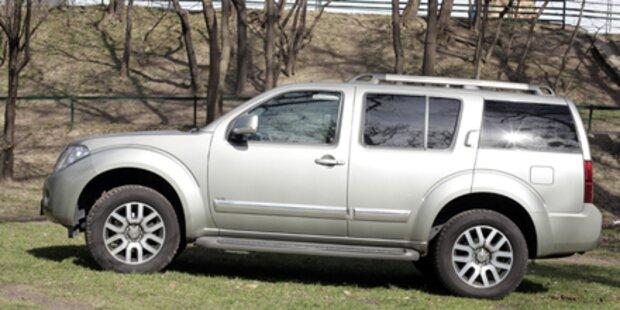Geländegänger Nissan Pathfinder im Test
