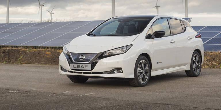 Neuer Nissan Leaf ist ein Bestseller