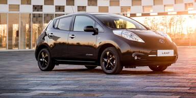 Nissan Leaf startet jetzt als Black Edition