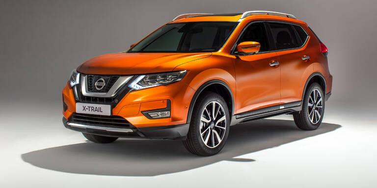 Facelift für den Nissan X-Trail