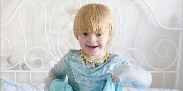 Disneyland verweigert Bub (4) Prinzessinen-Verwandlung