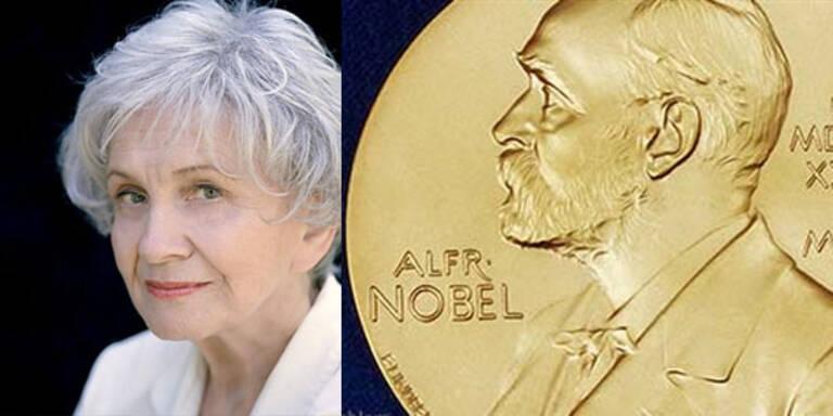 Literaturnobelpreis an Kanadierin Alice Munro
