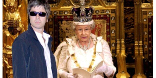 Noel Gallagher hat am Privatklo der Queen gekokst