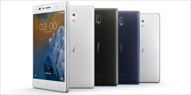 Nokias Android-Smartphone ab sofort in Österreich