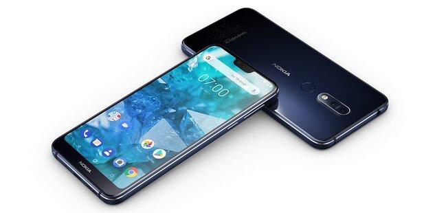 Neues Nokia 7.1 geht an den Start