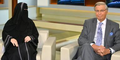 Sender verteidigt Einladung von Niqab-Muslima