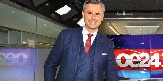 Norbert Hofer im großen oe24.TV-Talk