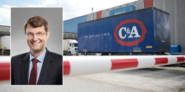 C&A trennt sich von 215 Mitarbeitern