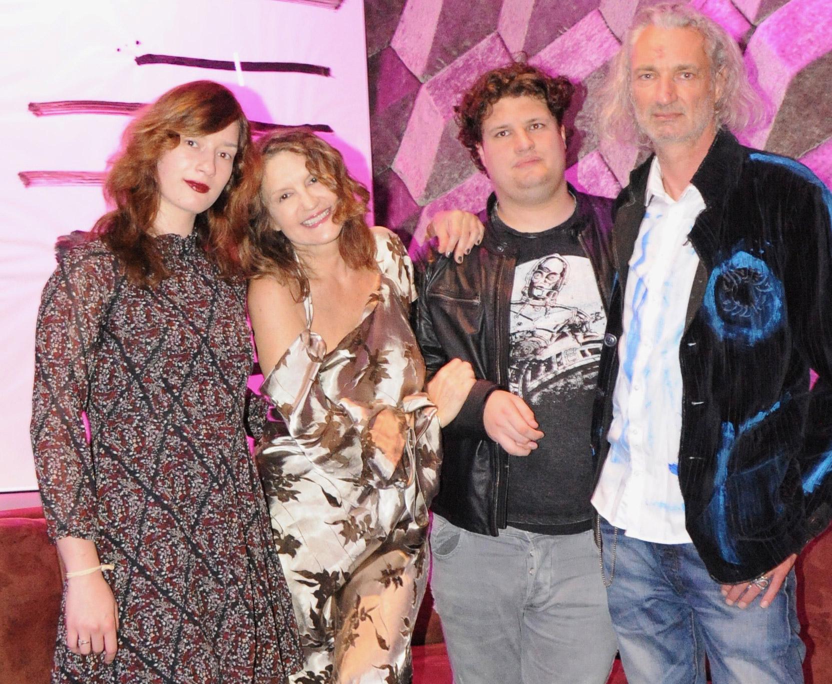 Cecile Nordegg und Familie
