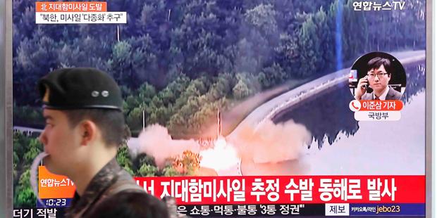 Nordkorea Raketentest Juni 2017