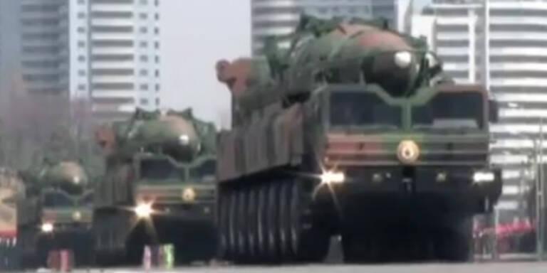Kim Jong Un droht mit Raketenangriff