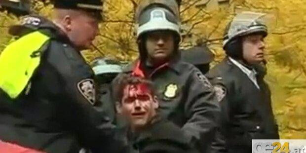 Occupy-Bewegung: 250 Festnahmen