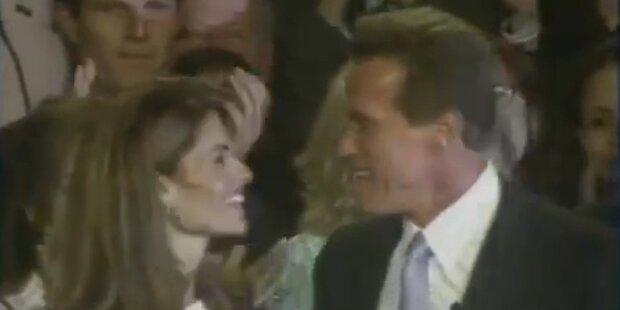 Arnie und Shriver auf Versöhnungskurs