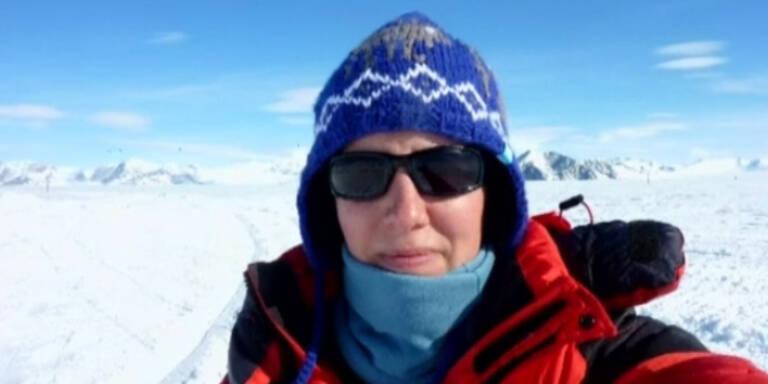 Felicity Aston durchquert Antarktis