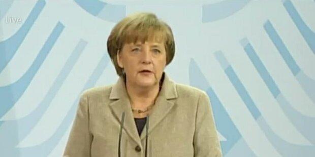 Merkels Stellungnahme zum Rücktritt