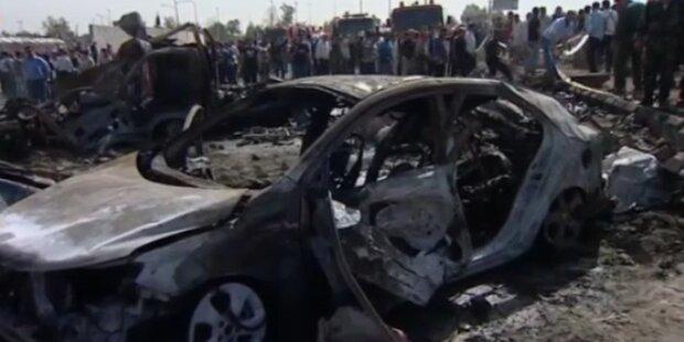 Dutzende Tote bei Anschlägen in Syrien