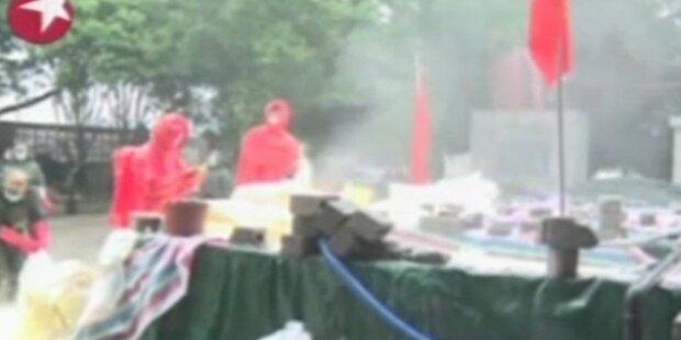 Schwermetall vergiftet Flüsse in China