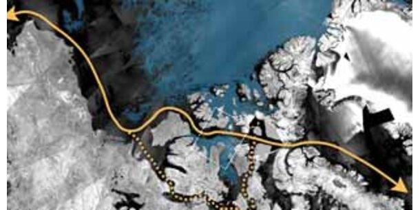 Arktis-Nordost- und Nordwestpassage erstmals zugleich eisfrei