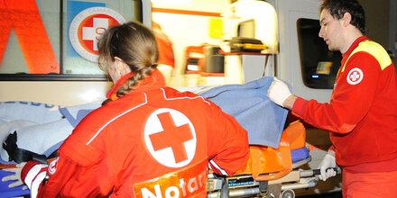81-Jährige bei Crash schwer verletzt