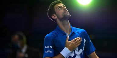 Novak Djokovic ATP Finals London