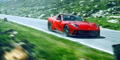Novitec macht den Ferrari 812 GTS noch schneller