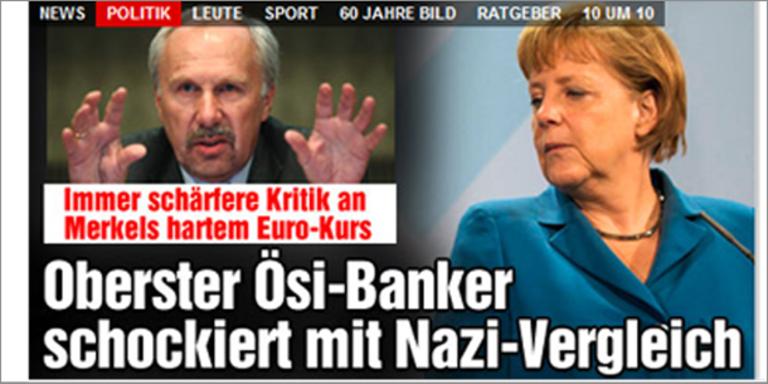 Wirbel um Nazi-Vergleich von OeNB-Chef
