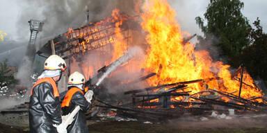 Familie nach Brand in Obsteig obdachlos